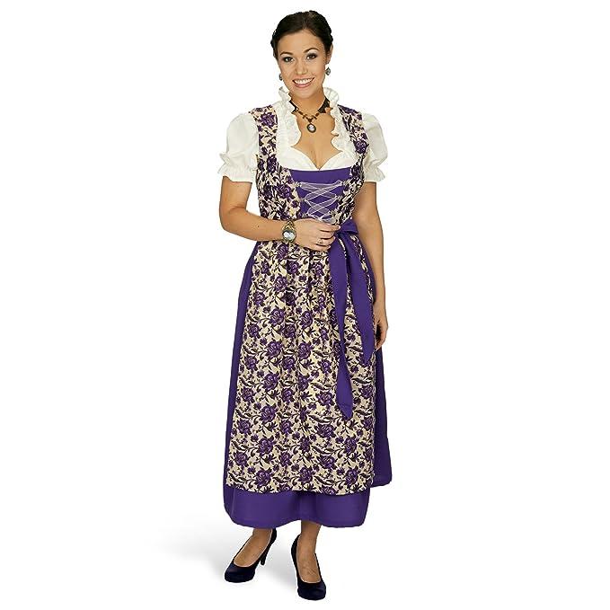 Disfraz de traje bávaro de mujer Viola, dirndl - vestido del ...
