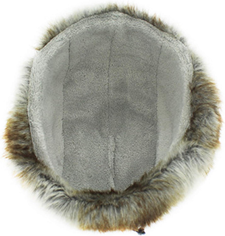 WANYING Unisex Winter Bomber Hat with Ear Flap Warm Fur Lining Trooper Trapper Ushanka Thermal Pilot Cap Headwear Waterproof for Outdoor Ski Snowboarding Cycling
