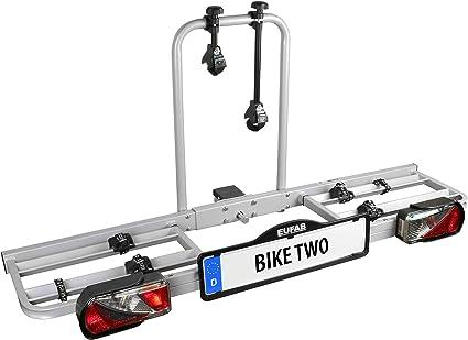 Eufab 11411 Bike Two - Portabicicletas: Amazon.es: Coche y moto