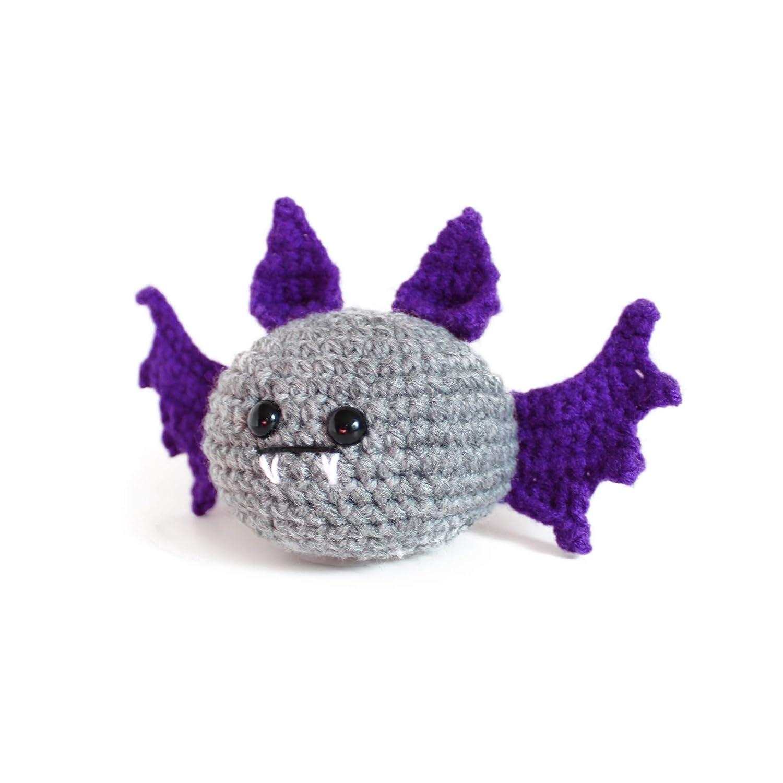 Crochet Amigurumi Bat Pattern | BeesDIY.com | 1500x1500