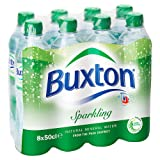 Buxton Natural Sparkling Mineral Water, 8 x 500ml