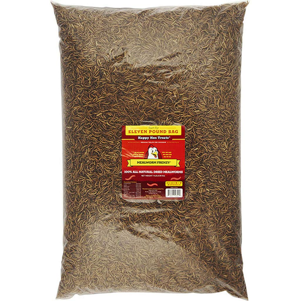 DPD Mealworm Frenzy Chicken Treats 11 lb.