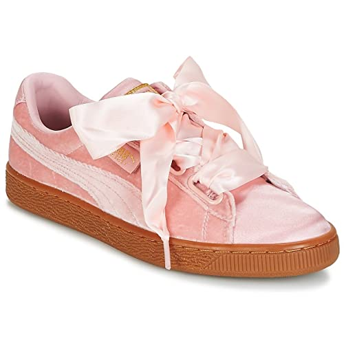 taille 40 c408c 02082 Puma Basket Heart Vs Trainers Pink 5.5 UK: Amazon.co.uk ...