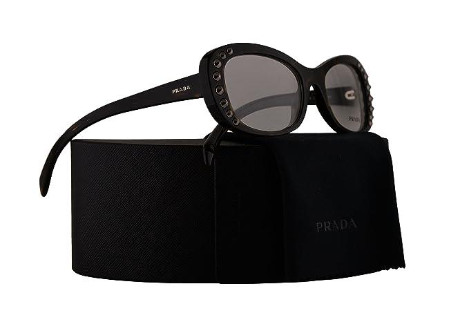 5d2dd92d6344 Amazon.com  Prada PR21RV Eyeglasses 53-19-140 Havana w Demo Clear ...