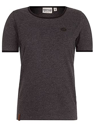 Naketano Damen T-Shirt Zauberfl÷tenspielerin T-Shirt  Amazon.de  Bekleidung d0f665427f