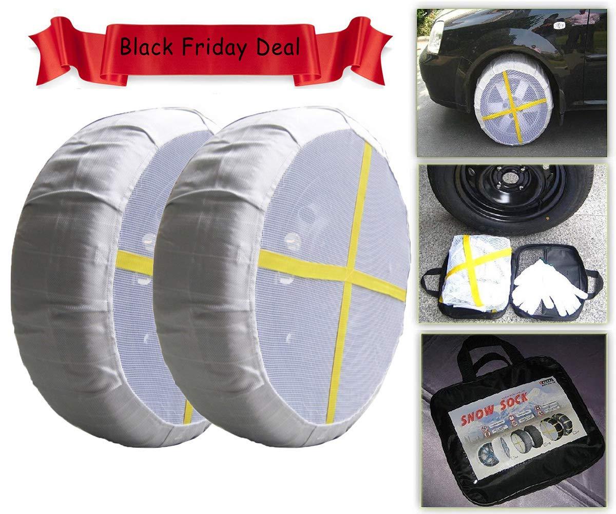 Calze da neve per pneumatici auto serie KA di lunga durata; calze da neve per pneumatici anti-sobbalzi; dispositivi invernali per neve e ghiaccio Shaddock Fishing