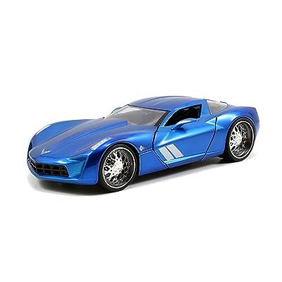 JADA Toys 1:24 BTM - '09 Corvette Stingray Concept: Toys & Games