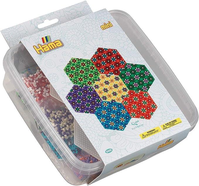 Hama – 5400 – Mini Perlas y Placas en Cajas: Amazon.es: Juguetes y juegos