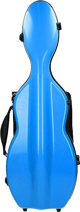 Estuche para violín Fibra de vidrio Ultra Light 4/4 sky blue M-Case: Amazon.es: Instrumentos musicales
