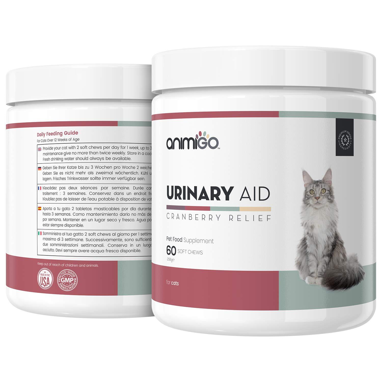 Animigo Ayuda Urinaria para Gatos - Suplemento Natural para ...