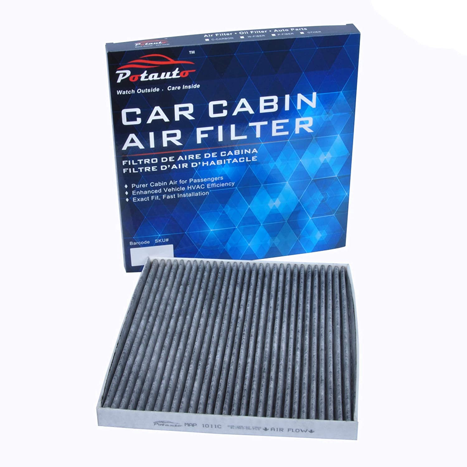 C45654 CABIN AIR FILTER FOR 2006 2007 2008 2009 CADILLAC CTS CTS-V SRX STS STS-V