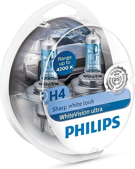 Philips RacingVision Lampadina Fari Auto Tipo H4 2 Pezzi