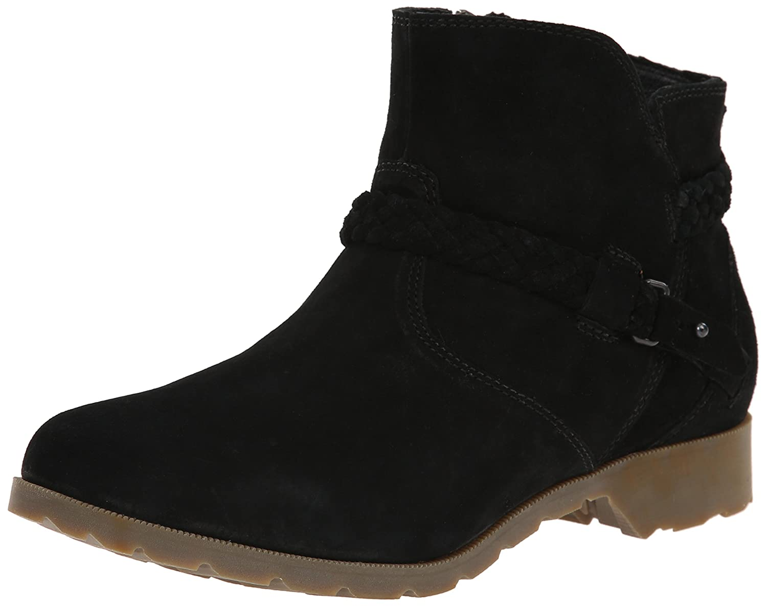 Teva Women's Delavina Suede Ankle Boot B00PS26PMM 9 B(M) US|Black