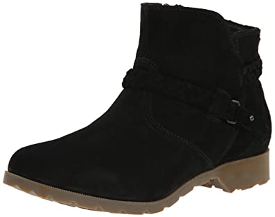 Amazon.com | Teva Women\'s Delavina Suede Ankle Boot | Hiking Boots