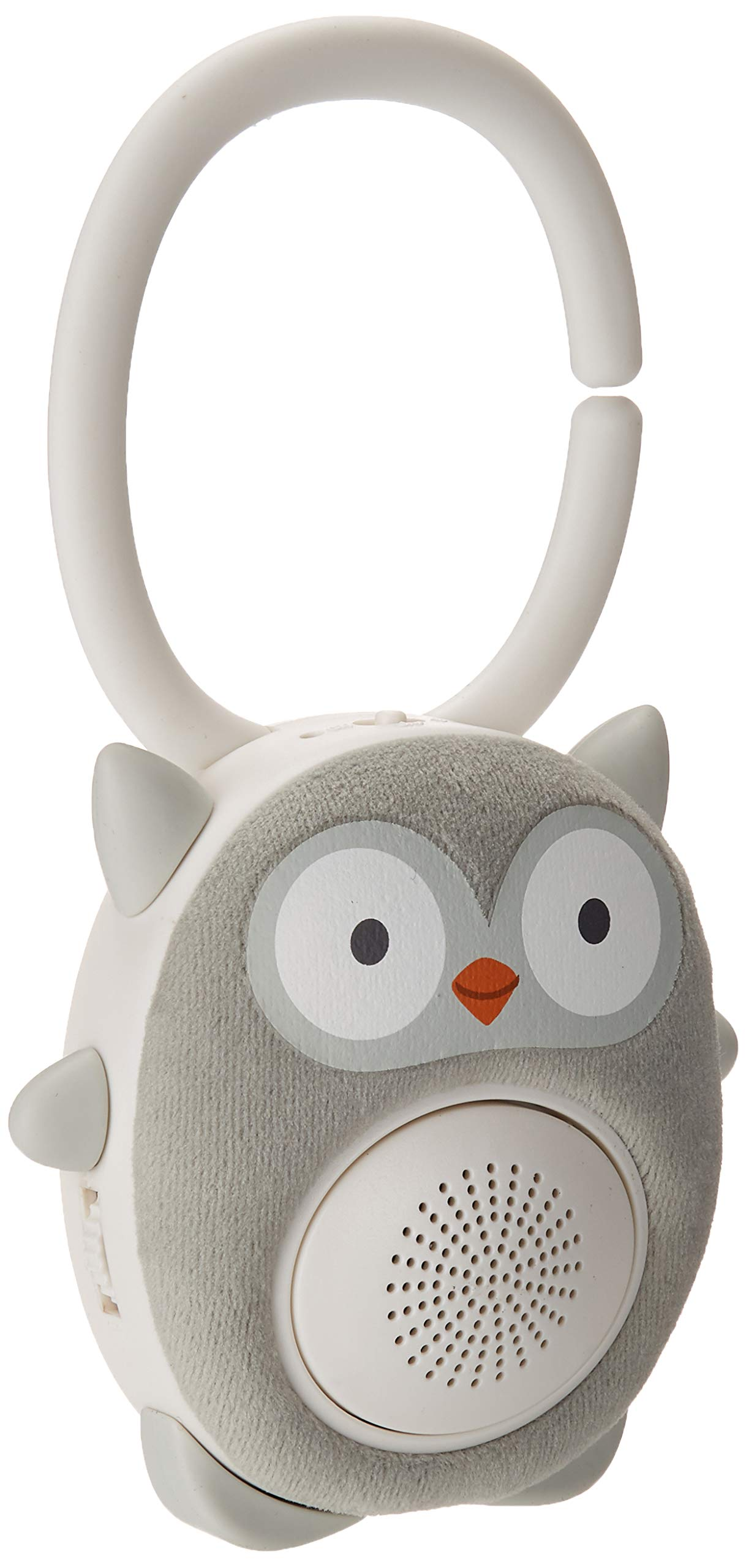 WavHello SoundBub, White Noise Machine and Bluetooth Speaker | Portable and Rechargeable Baby Sleep Sound Soother - Ollie The Owl, Grey by Wavhello