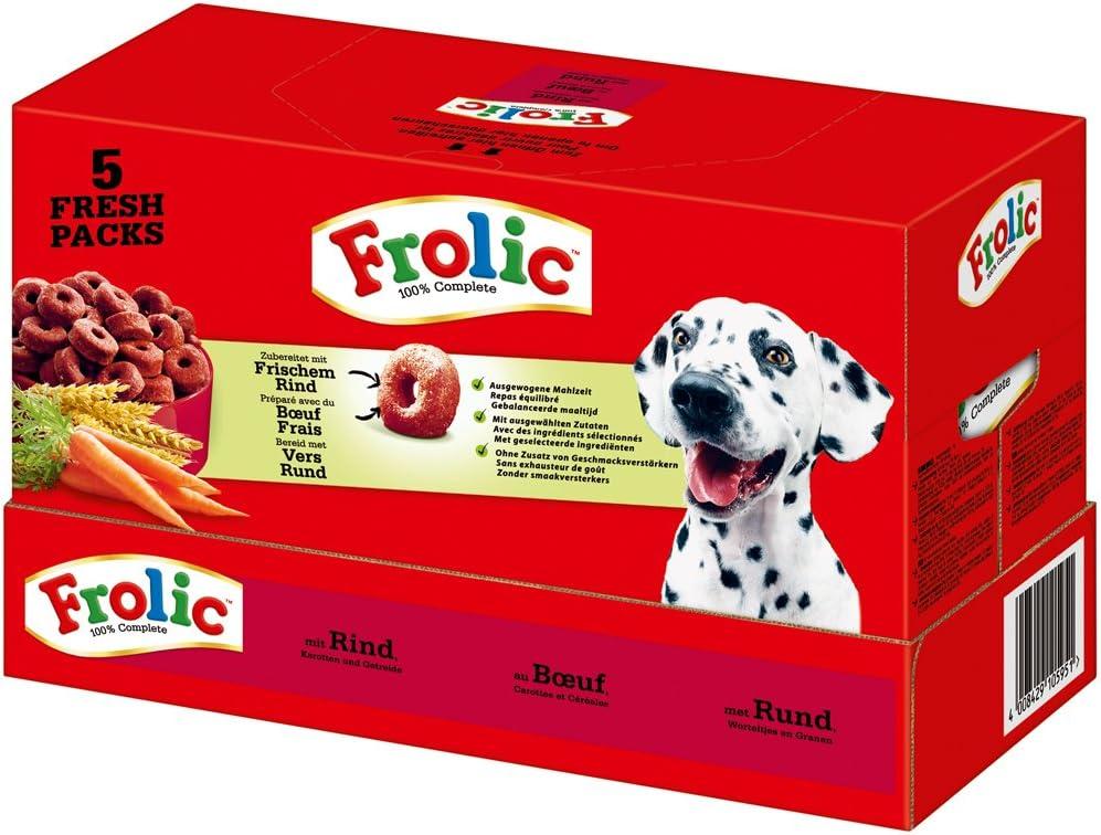Rebekah Ginda Complete Perros Forro vacuno zanahorias y cereales, 5 x 1.5kg = 7.5 Kg