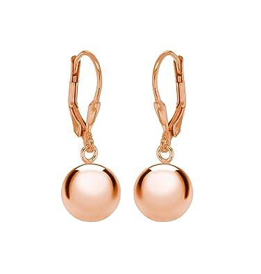 Tuscany Silver 10mm Ball Drop Earrings QlmZa8w2