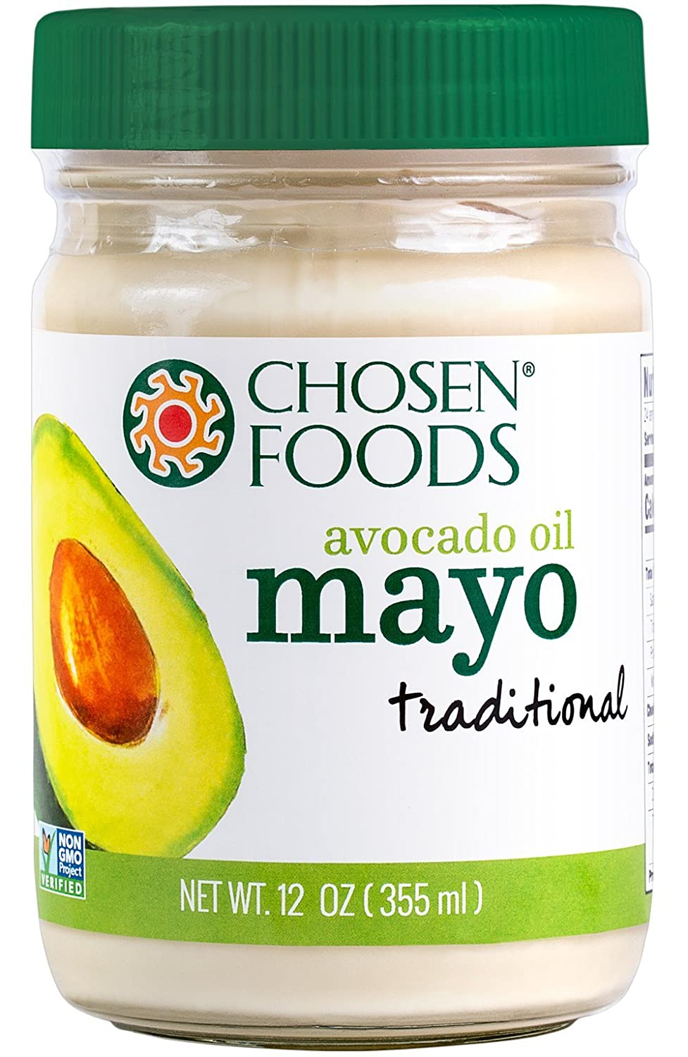 Chosen Foods Avocado Oil Mayo, 12 Ounce