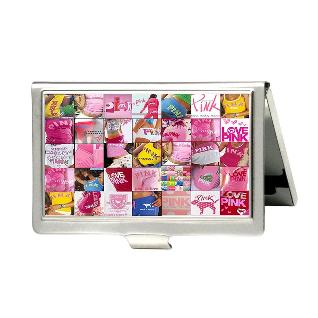 besondere Auswahl an Sonderpreis für billig zu verkaufen Love Pink Victoria Secret Zebra Custom Visitenkartenhalter ...