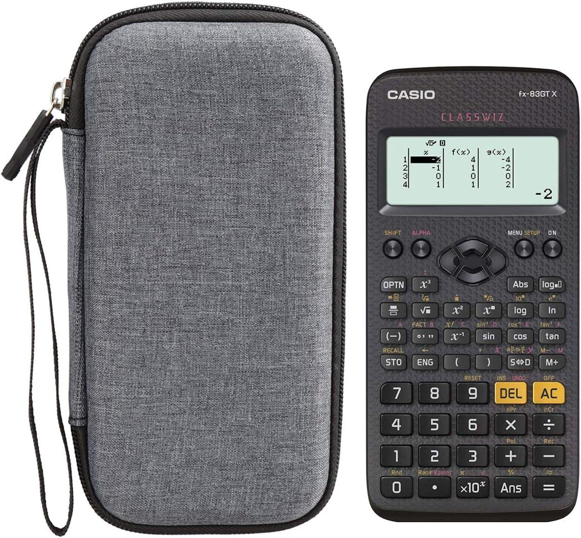 fx-85GTX //FX-991ES// fx-85es Taschenrechner FX-991EX Aproca Hart Schutz H/ülle Reise Tragen Etui Tasche f/ür Casio FX-991DE// fx-83GTX