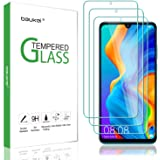 (3 Pack) Beukei for Huawei P30 Lite Screen Protector Tempered Glass,Glass with 9H Hardness, Anti Scratch, Bubble Free…