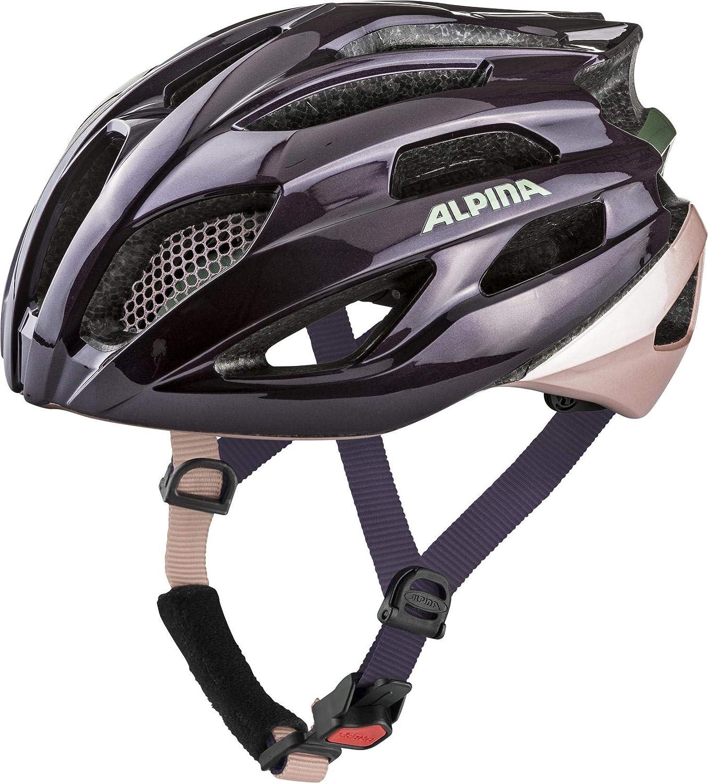 Alpina Fedaia Casque de vélo Mixte Prune