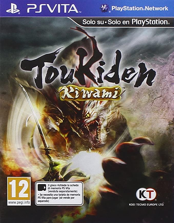 Toukiden Kiwami: playstation vita: Amazon.es: Videojuegos