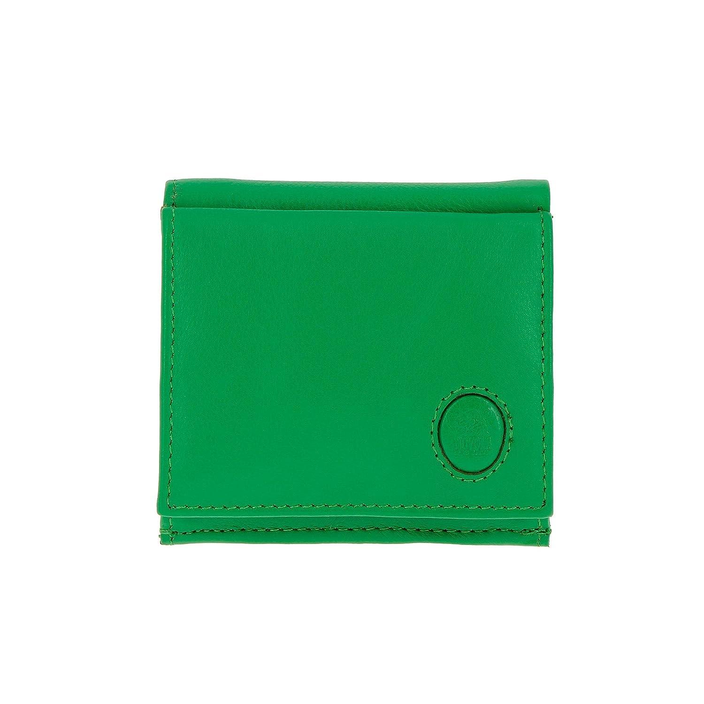 2f9354716 Un accesorio de peque?as dimensiones y còmodo para llevar consigo. Una  manera segura para conservar los billetes y las tarjetas. Color: Verde claro