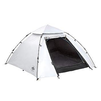 Lumaland Tienda de campaña Abovedada Light Pop Up Ligera para 3 Personas Camping Acampada Festival 215 x 195 x 120 cm