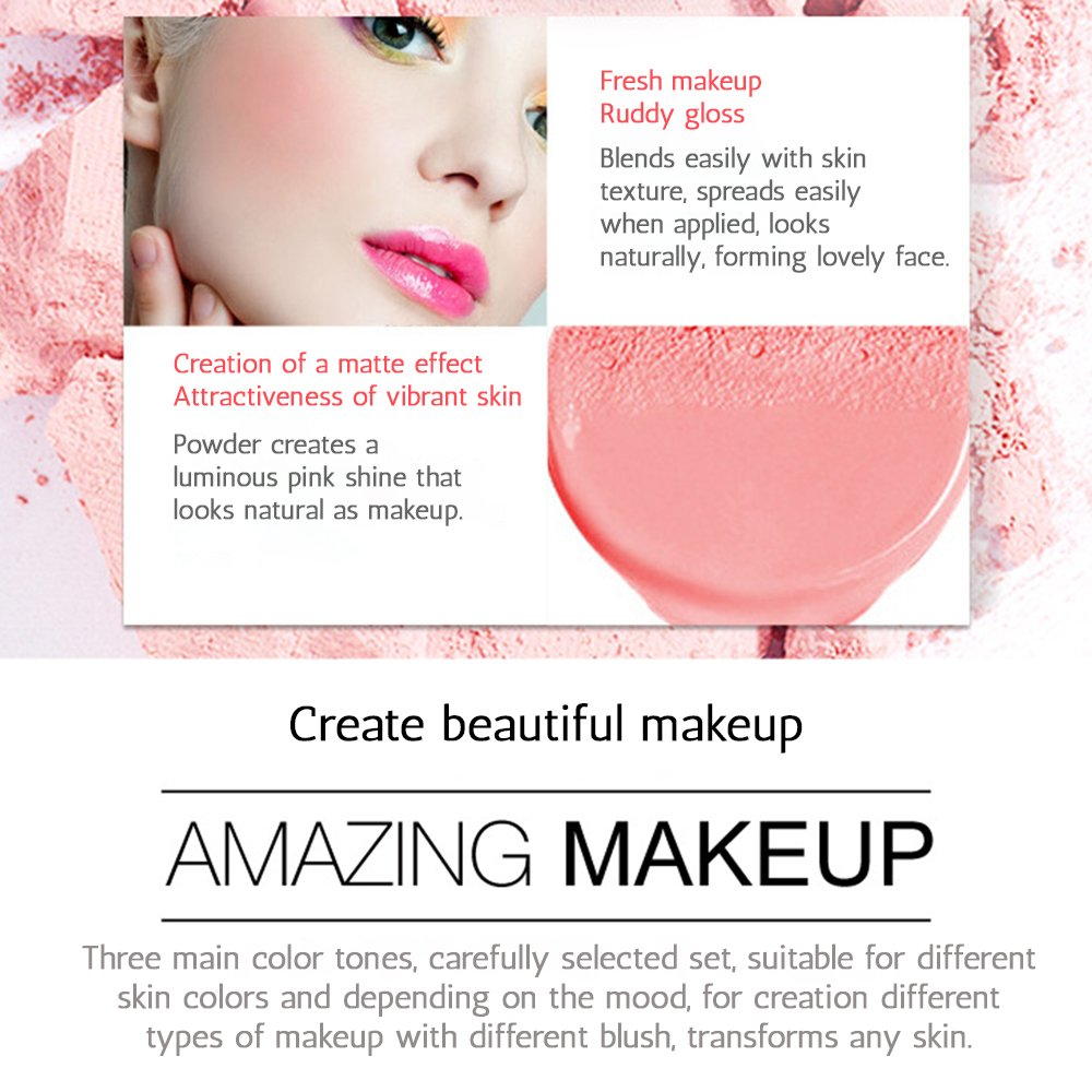 Buy Bioaqua Blusher Light Pink Online At Low Prices In India Peach 02 Blush On Cushion Flawless Cheek
