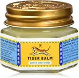 100% GENUINE WHITE TIGER BALM MUSCLE PAIN RELIEF, HEADACHES, JOINT PAIN TIGER BALM OINTMENT