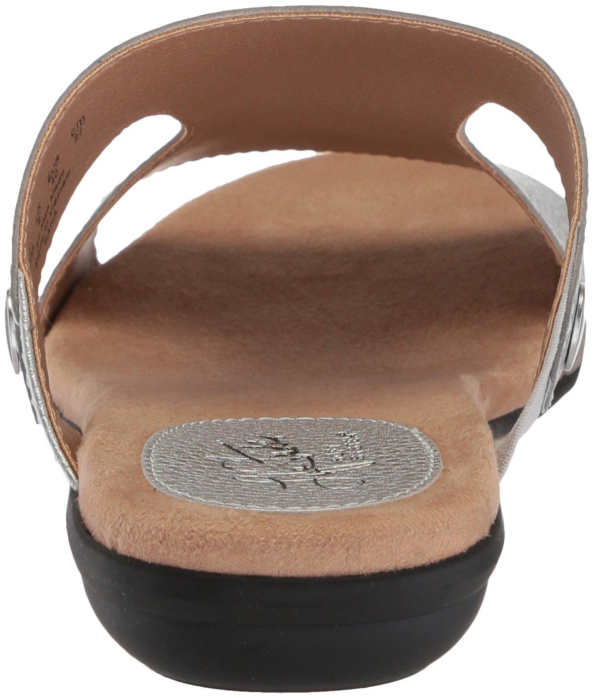 LifeStride Women's BAHA BAHA Women's Flat Sandal B0775YG4FT 7.5 W US|Silver a5a949