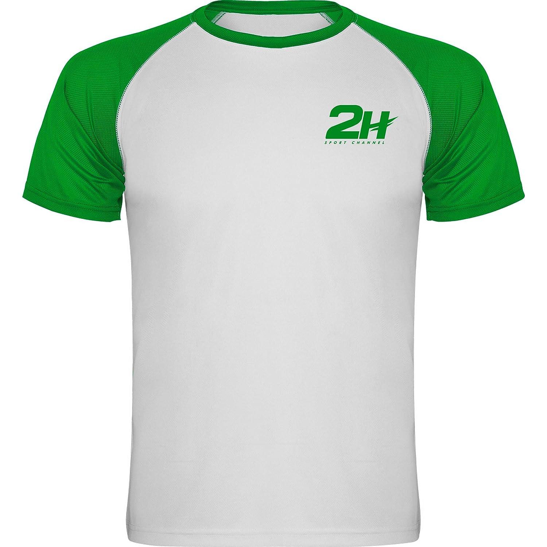 Camiseta técnica de pádel 2H Green Fury, L: Amazon.es: Deportes y ...