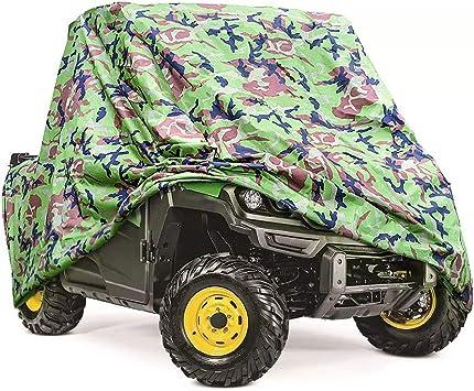 NEW UTV CAMOUFLAGE GREEN STORAGE COVERS RHINO RANGER MULE GATOR PROWLER RAZOR
