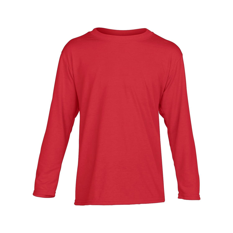 Gildan Childrens/Kids Unisex Performance Youth Long Sleeve T-Shirt