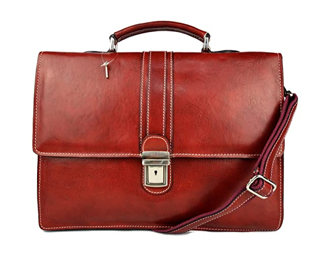 876ccc381311f Cartera de cuero bolso de hombre bolso de mujer maletin de piel bolso de  mano bandolera