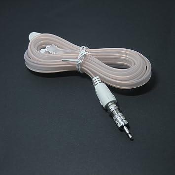 Ancable FM - Antena coaxial tipo F macho con 3,5 adaptadores para Bose Wave