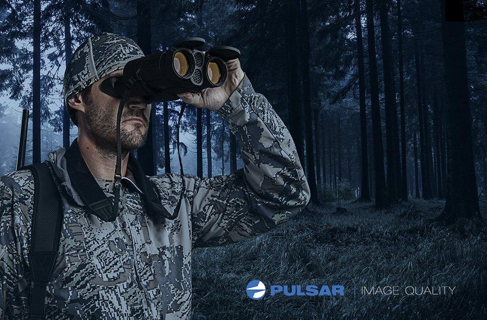 Pulsar expert lrf fernglas mit entfernungsmesser 8 x 4 0: amazon.de