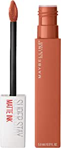 Maybelline SuperStay Matte Ink Liquid Lipstick - Fighter 75, 4.5g