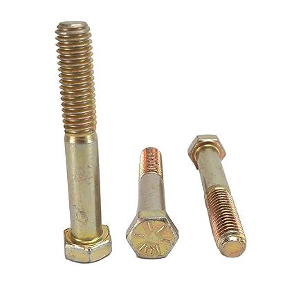 Stainless Steel Hex Cap Screws Bolt5//16-18x2-1//2 25//PCS