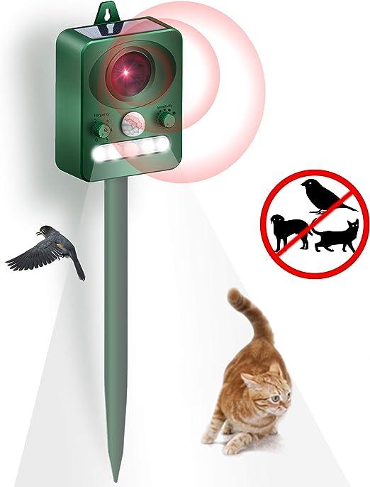 PewinGo Repelente para Gatos, Repelente Ultrasónico para Animales ...