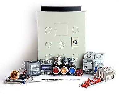 Powder Coating Oven Controller Kit, 240V 30A 7200W (KIT-PCO102):  Amazon.com: Industrial & ScientificAmazon.com