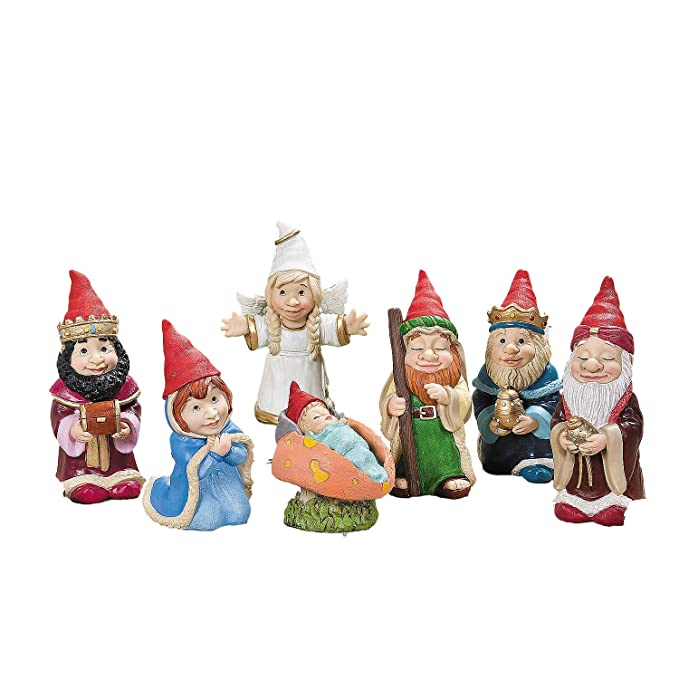 7-piece-gnome-Christmas-nativity-scene