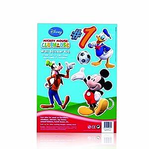 1 X Mickey Mouse Wall Sticker Kit