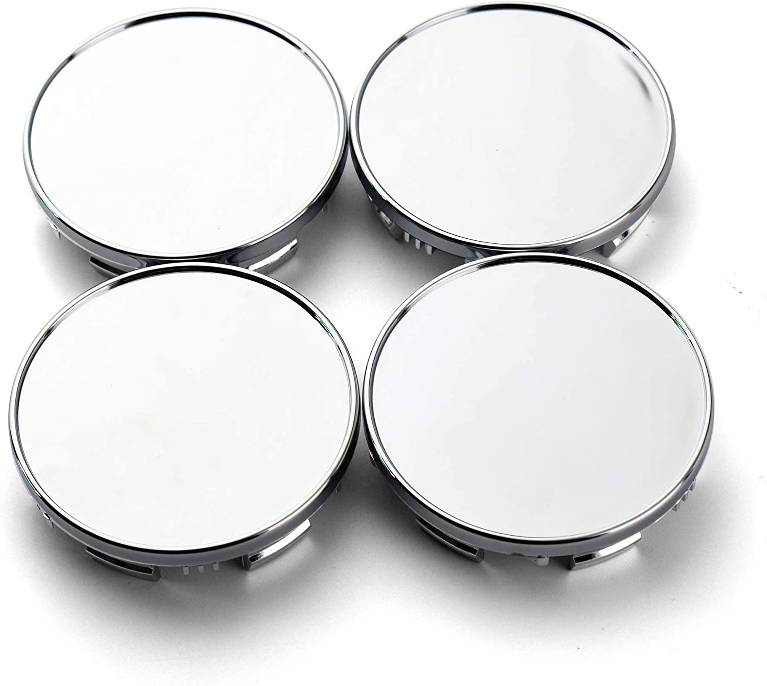 85mm(3.34in)/78mm(3.07in) Chrome Silver Car Wheel Center Hub Caps Set of 4 for Titan(2004-2012) Armada(2004-2012) #40342-7S500