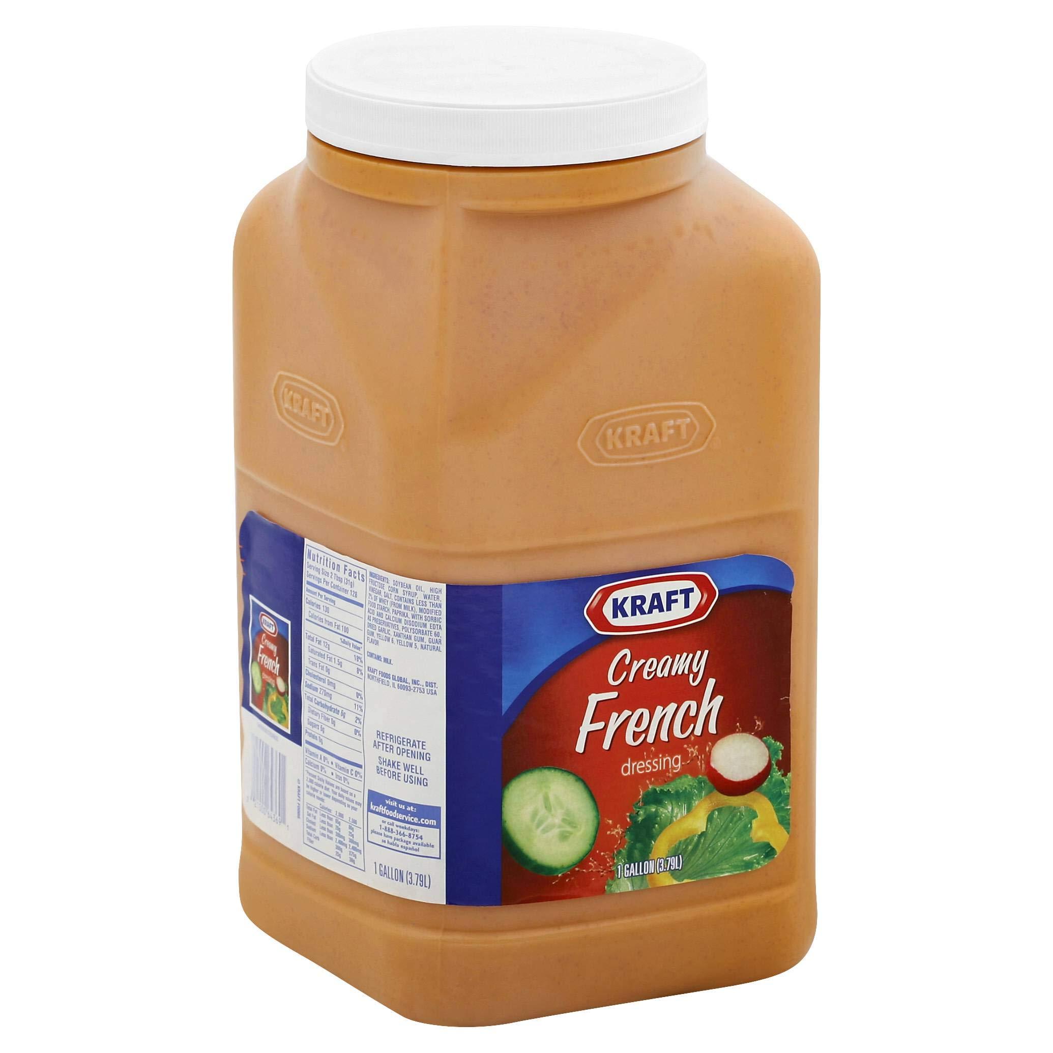 Dressing Creamy French 4 Case 1 Gallon
