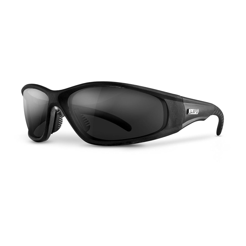 LIFT Safety Strobe Safety Glasses with Anti-Fog Lens (Black Frame/Smoke Lens) ESR-12KSTFB
