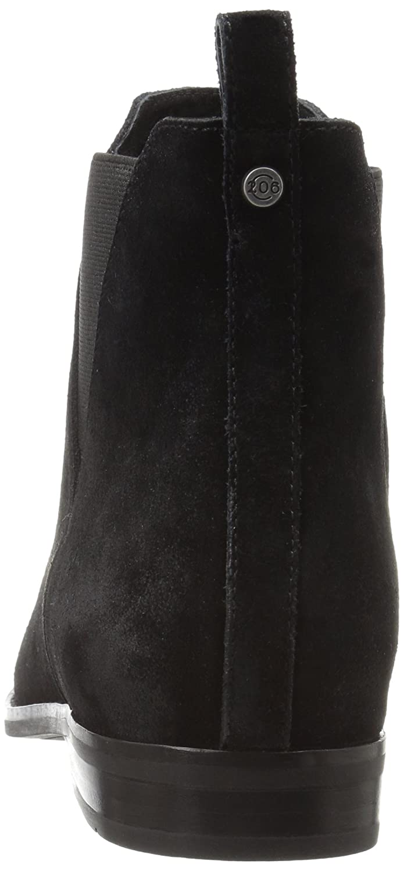 206 Collective Women's Ballard Chelsea Ankle Boot B01NAZRGL1 9.5 B(M) US|Black Suede