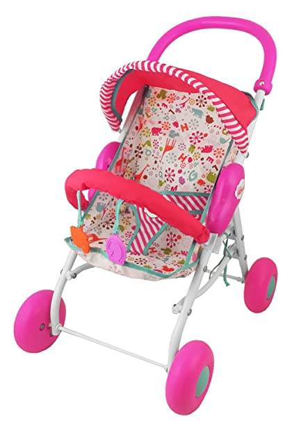 Amazon.com: Fisher-Price Little Mommy Baby carriola para ...