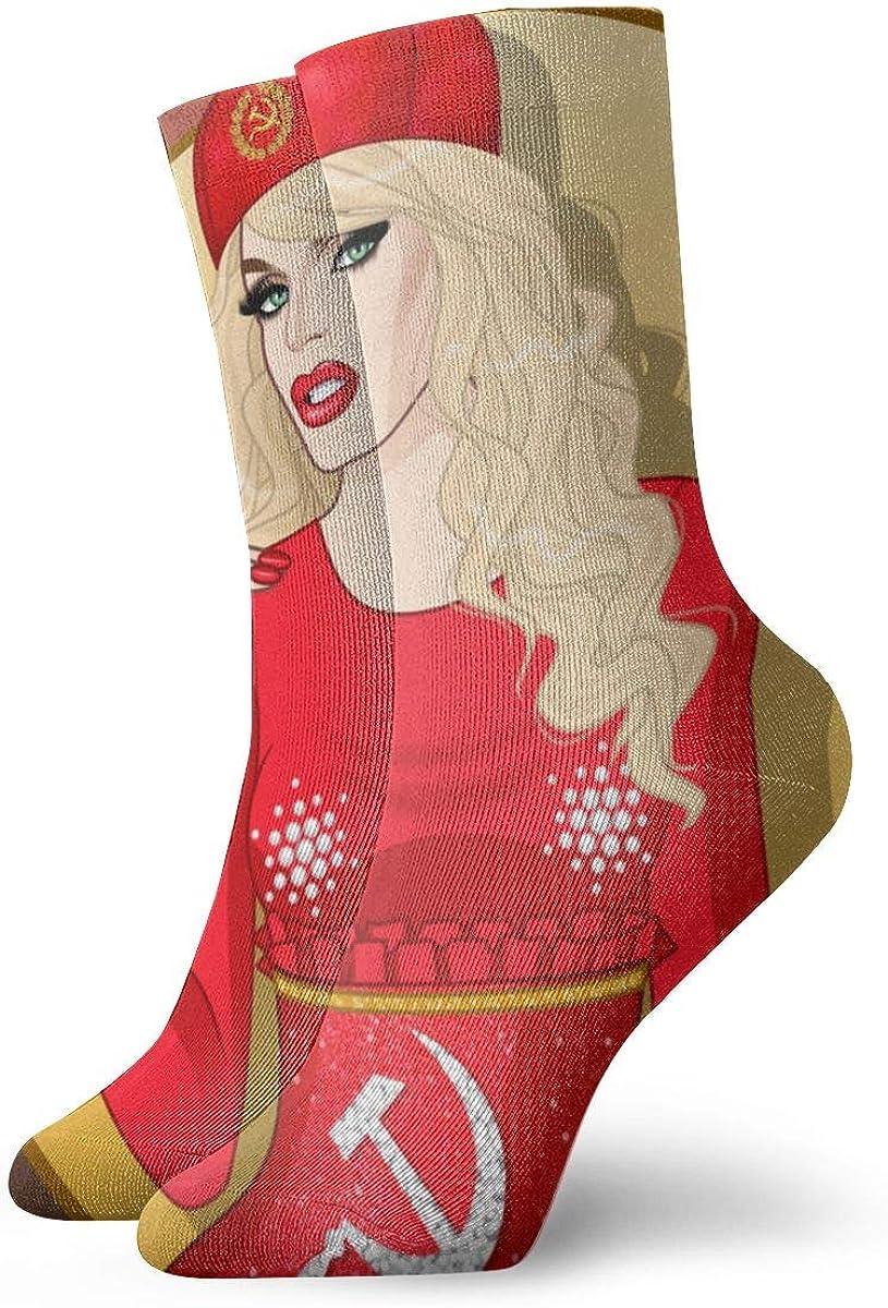 CHASIHAO Katya Zamolodchikova Men Women Soft Socks